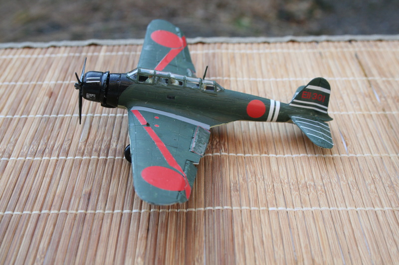 """Nakajima B5n2 """" Kate au 1/72 du Lt Commander Shigekaku Shimazaki Img_2155"""