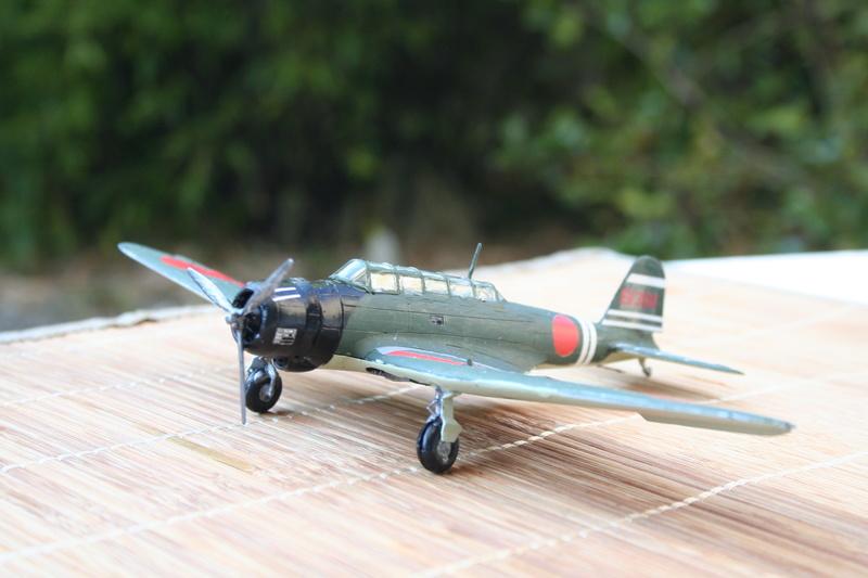 """Nakajima B5n2 """" Kate au 1/72 du Lt Commander Shigekaku Shimazaki Img_2156"""