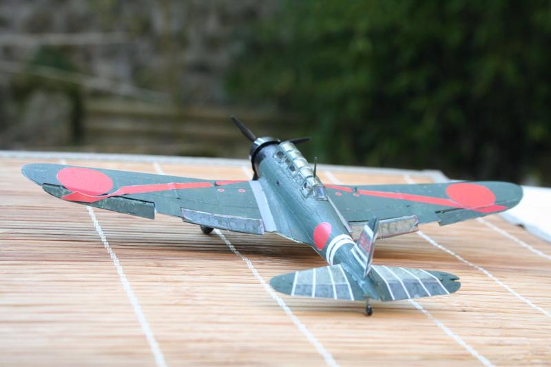 """Nakajima B5n2 """" Kate au 1/72 du Lt Commander Shigekaku Shimazaki Img_2157"""