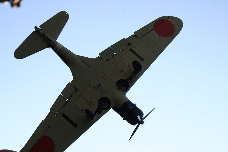 """Nakajima B5n2 """" Kate au 1/72 du Lt Commander Shigekaku Shimazaki Img_2158"""
