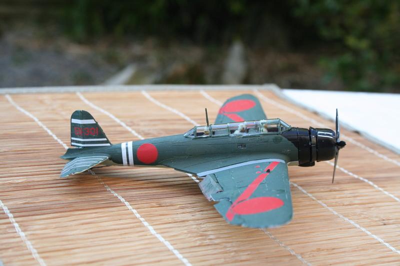 """Nakajima B5n2 """" Kate au 1/72 du Lt Commander Shigekaku Shimazaki Img_2159"""