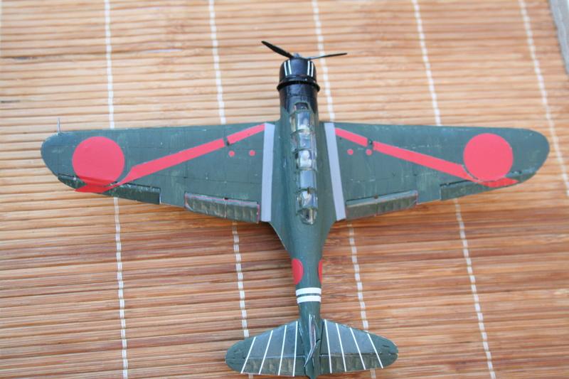"""Nakajima B5n2 """" Kate au 1/72 du Lt Commander Shigekaku Shimazaki Img_2162"""