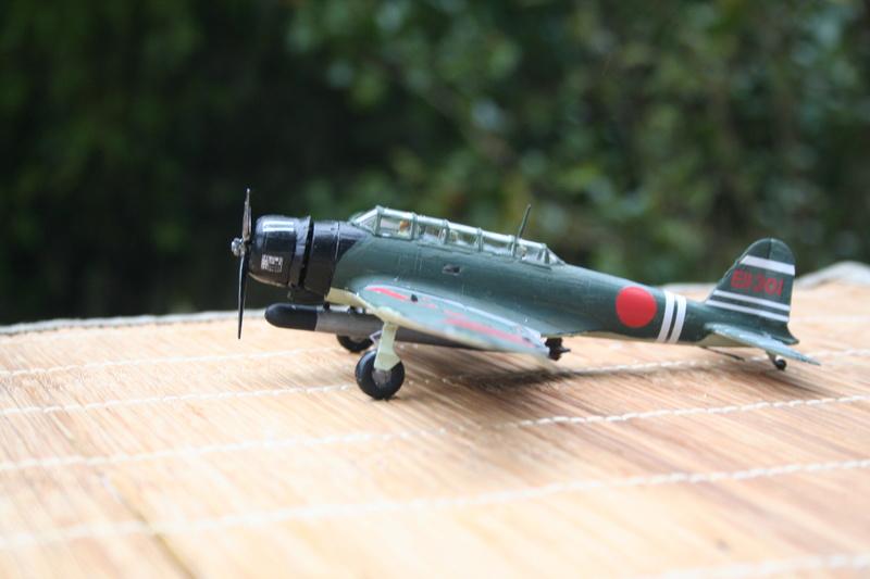 """Nakajima B5n2 """" Kate au 1/72 du Lt Commander Shigekaku Shimazaki Img_2170"""