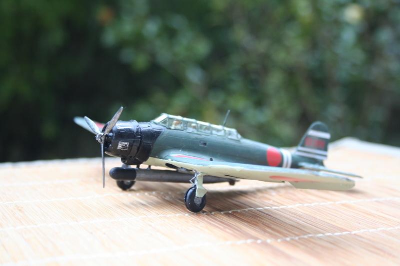 """Nakajima B5n2 """" Kate au 1/72 du Lt Commander Shigekaku Shimazaki Img_2171"""