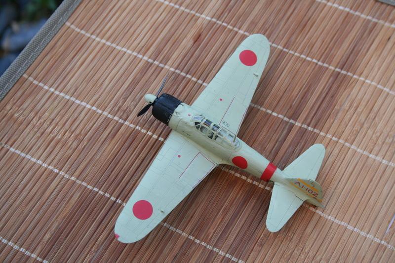 Le Mitsubishi A6M2B-21 Zéro du Lt Saburo Shindo 2 e vague d'assaut de l'Akagi à Peral Harbor au 1/72 par JJ Img_2214