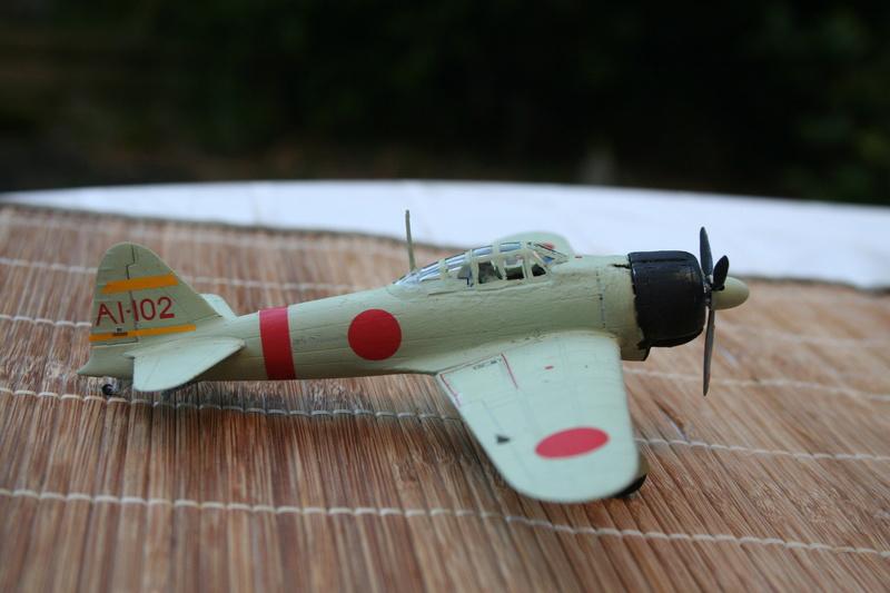 Le Mitsubishi A6M2B-21 Zéro du Lt Saburo Shindo 2 e vague d'assaut de l'Akagi à Peral Harbor au 1/72 par JJ Img_2221