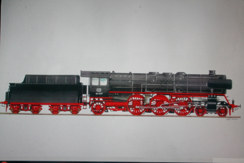 La Locomotive à vapeur BR 52 de Trumpeter au 1/35 Img_2317
