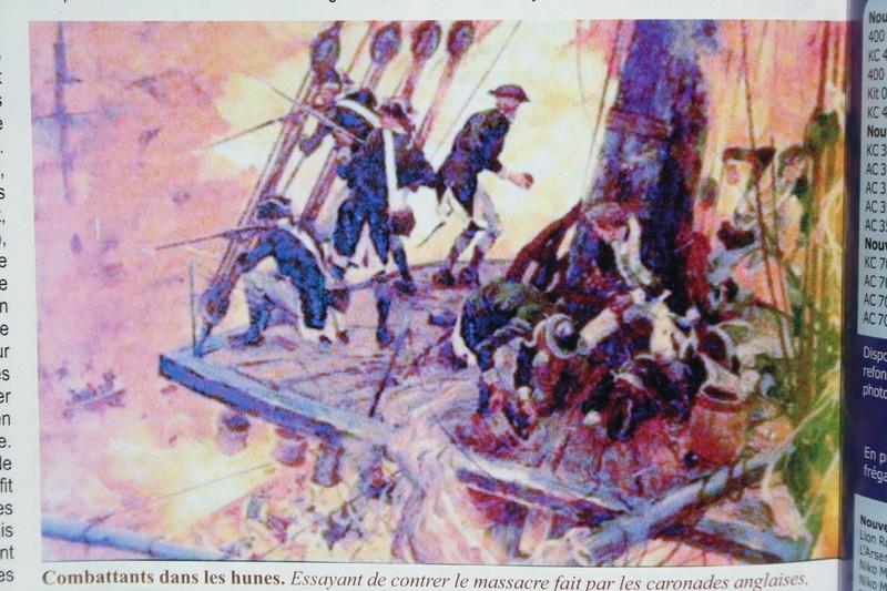 le radoub du ponant : Origine des voiles royales - Page 14 Img_2524