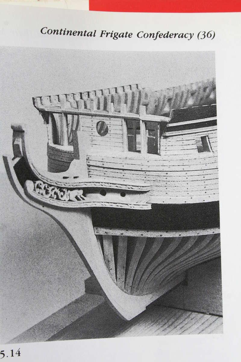 La Confederacy de 1772 au 1/64 par Model Shipways - Page 5 Img_2542