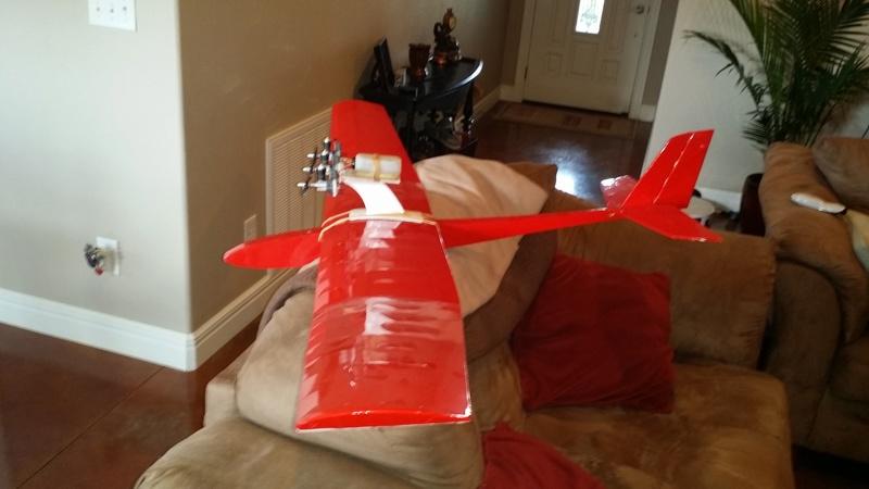 Multi engine Cox powered glider 20180313