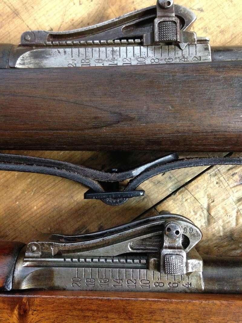 Gewehr 98 qui sort de grenier - Page 2 Hausse10
