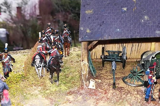 La cousine Chedin et le 3e Hussard ! H1211