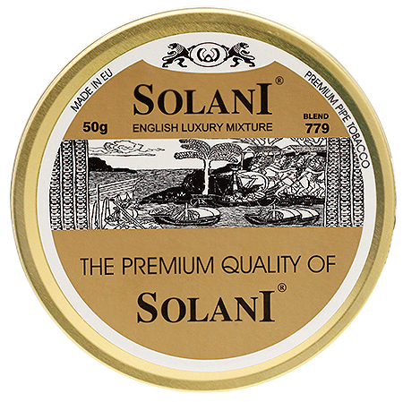 SOLANI, English Luxury Mixture n° 779 , dit aussi Gold Label 003-0610