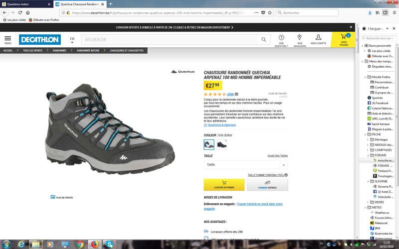 Chaussures de Wading cloutées à 30 euros Dycath11