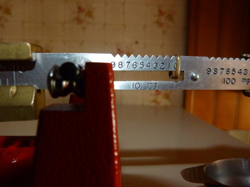 probleme avec balance hornady pacific g (en grammes ) 09410