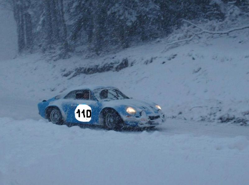 110ème Rendez-Vous de la Reine - Rambouillet le 17 décembre 2017 Alpine11