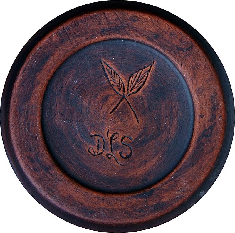 Pottery Vase - Turtle Motto. Dsc03526