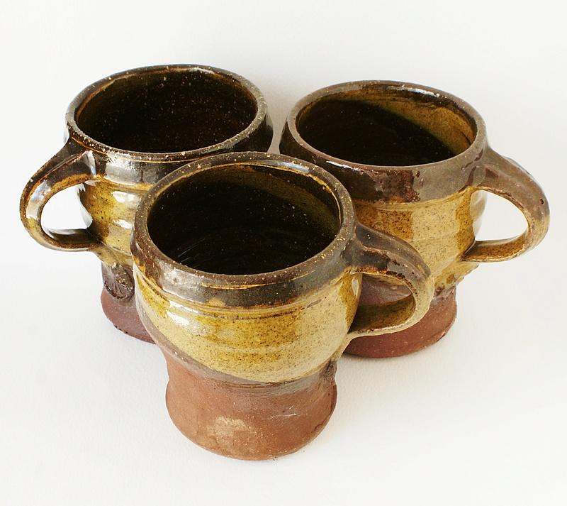 Studio Pottery Mugs - Peter Smith, Bojewyan Pottery  Dsc04010
