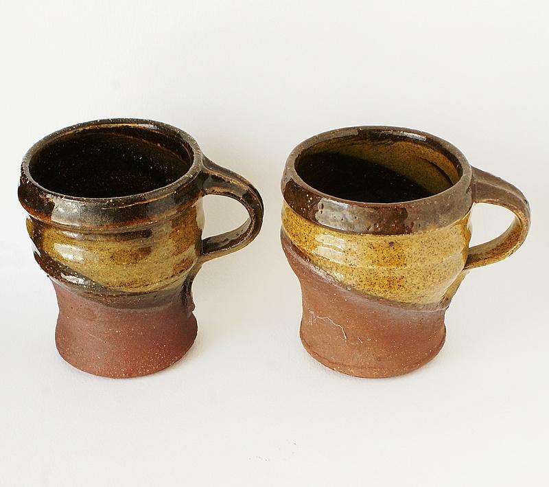 Studio Pottery Mugs - Peter Smith, Bojewyan Pottery  Dsc04011