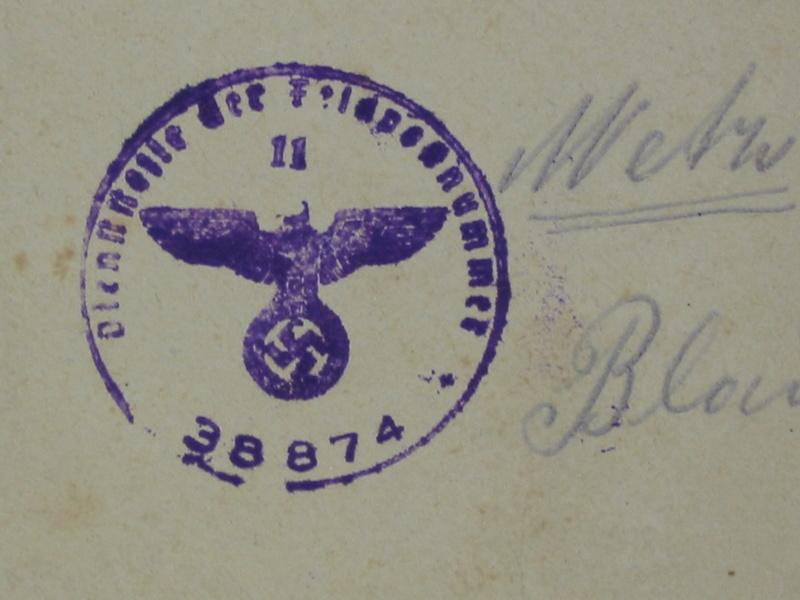 identification ou localisation du Feldpostnummer Img_7245