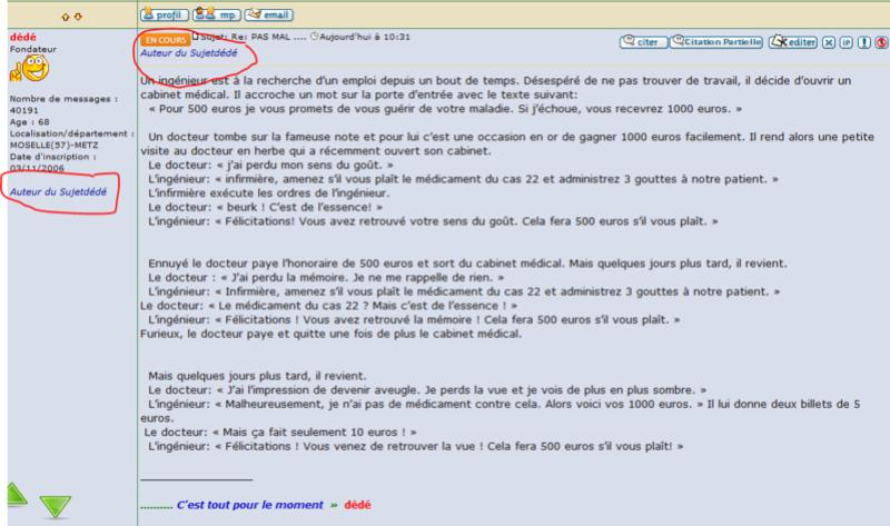 [PHPBB2] Afficher le posteur du sujet dans les réponses Captur12