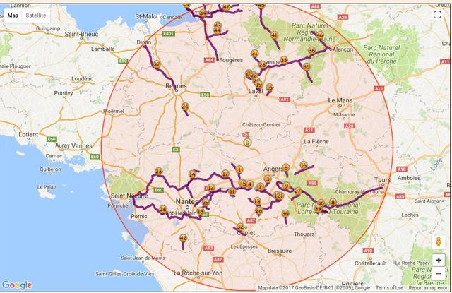 Tour de France de la Mascotte V2Honda 25010