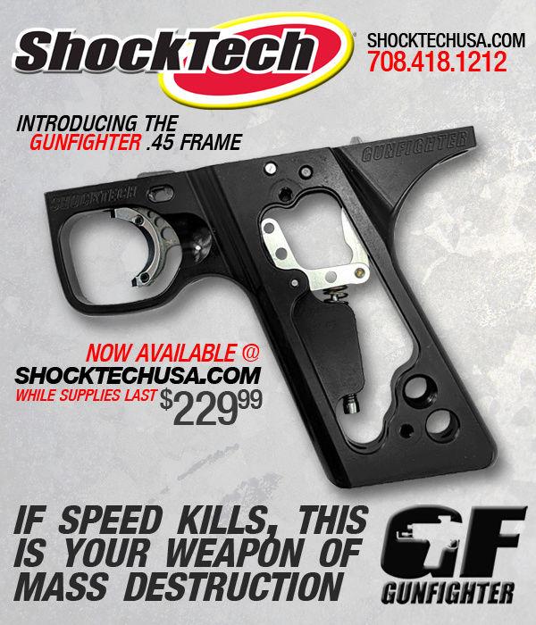 ShockTech Gunfighter 45 Frame 45fram10