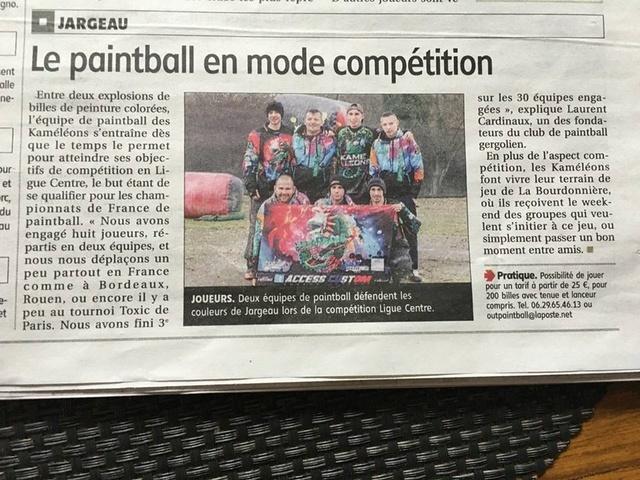 Article Presse / Le Paintball en mode compétition (France) Articl14