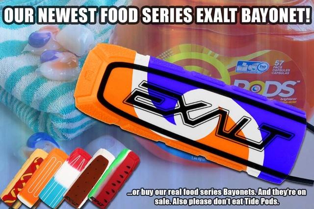 Exalt Food Series Bayonet Bayone10