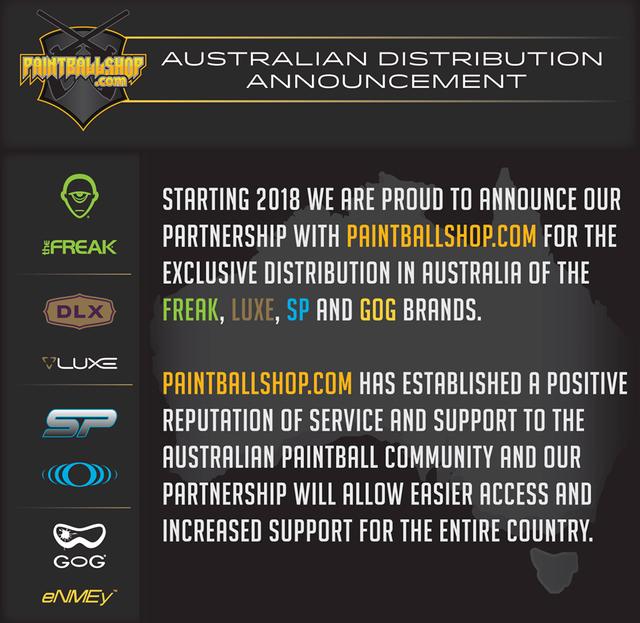 DLX SP GoG / Paintballshop Australia partnership Dlxpar10