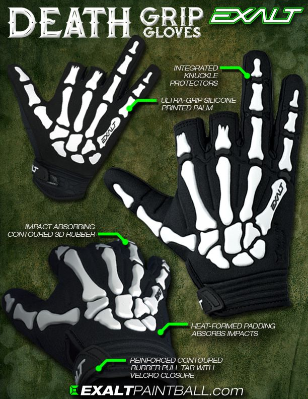 Exalt Death Grip Gloves Gloves10