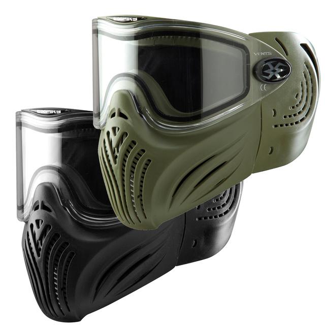 Choisir son masque pour la photo / Vidéo de Paintball Helix10