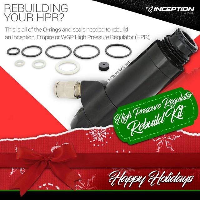 Inception HPR rebuilt kit Hprreb10
