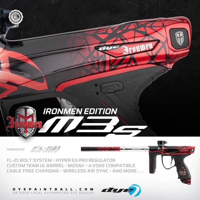 Dye M3S Ironmen M3siro10
