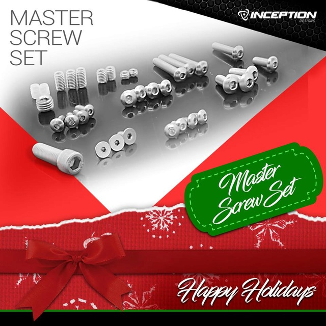 Inception Master Screw Set Master10