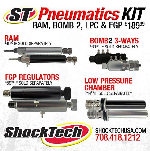 ShockTech Autococker Kit Pneumatics Shockt10