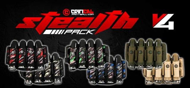 Critical Stealth V4 Backpack Stealt10
