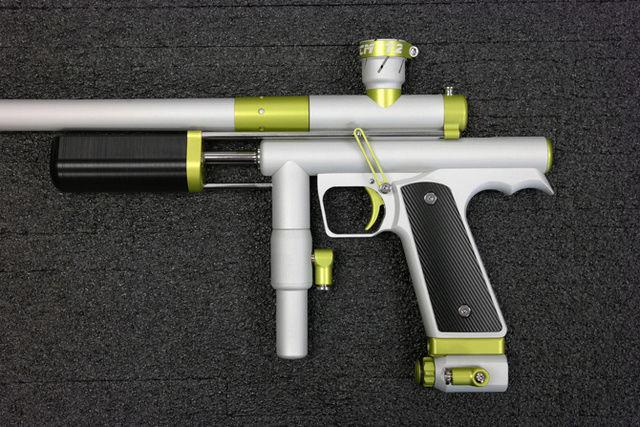 CCM T2 Dust Silver / Semi-Gloss Green T2dust13