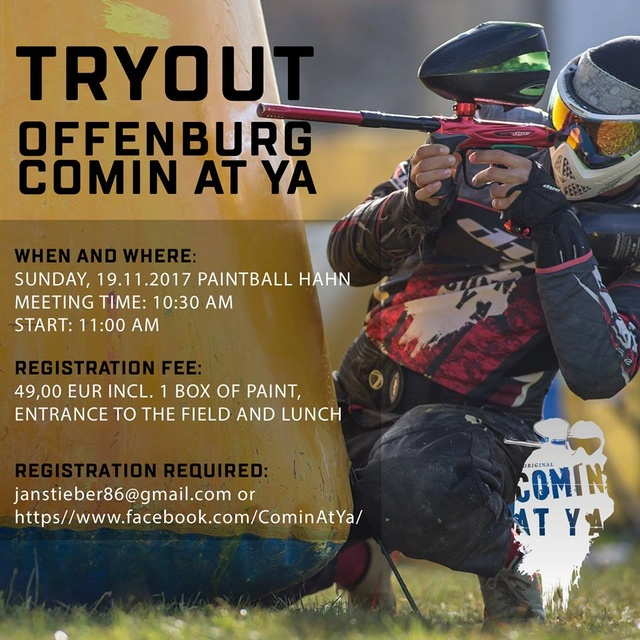 Tryout Comin At Ya (Allemagne) Tryout10