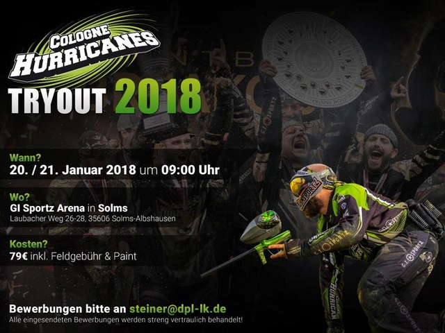 Tryout (Recrutement) Hurricanes Cologne (Allemagne) Tryout13
