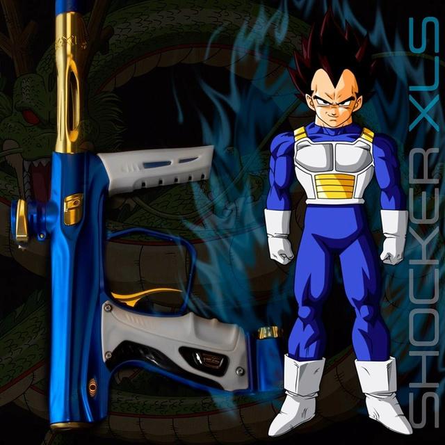 Shocker XLS Bleu Dust Gold Gloss Xlsble10