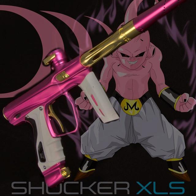 Shocker XLS Rose Dust Accent Kit Gold Gloss Xlsros10