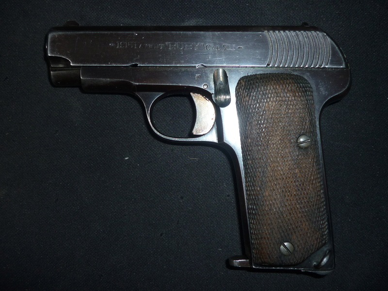 "1915 Patent ""Ruby"" Cal 7,65 P1130616"