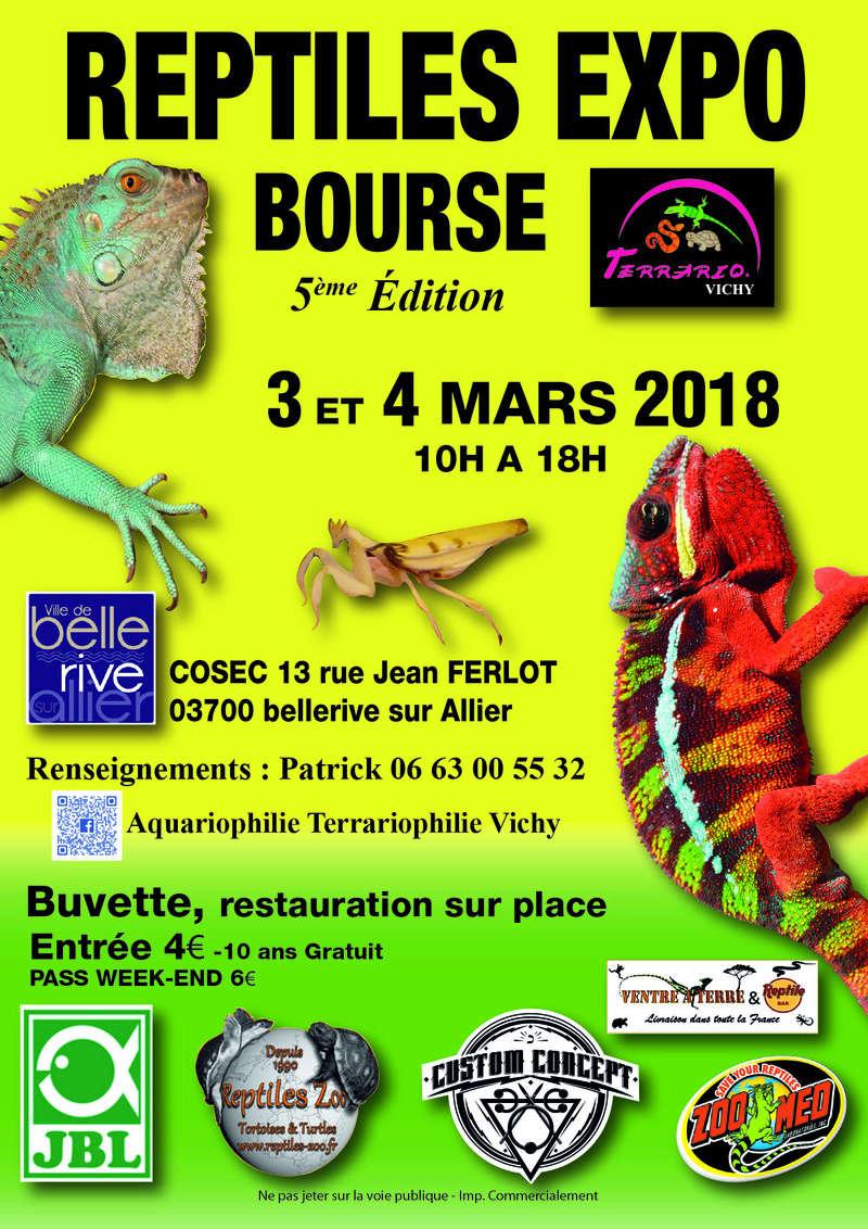 Reptiles expo bourse vichy 3 et 4mars 2018 Reptil10