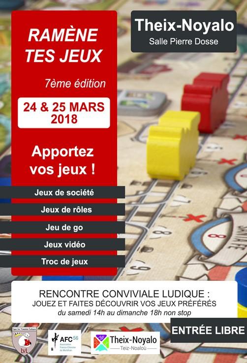 Ramène tes Jeux - 7ème édition - 24 & 25 mars 2018 à Theix-Noyalo (56) Rtj20110