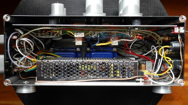 Cyphen Labs Prautes Driver - Valvolare con le 12AU7 e 50L6 NOS Intern11