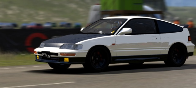 HONDA CR-X SiR 1990 Start10