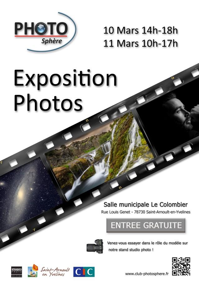 Expo St Arnoult en Yvelines samedi 10 mars et dimanche 11 mars 2018 Affich10