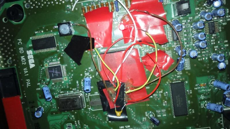mega drive 2 puce , 50hz , 60 hz  Dsc_0813