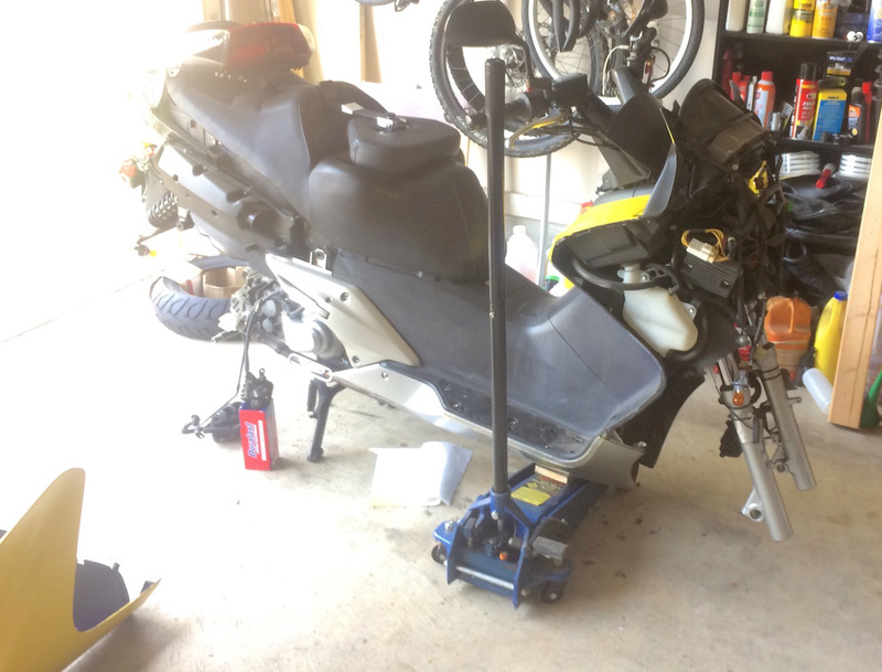 The official long post of the overhaul and repaint of my 06 Silverwing Nekkid11